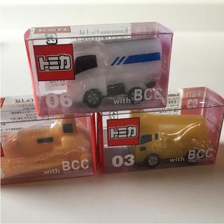 バンダイ(BANDAI)のトミカ キャンドル 3個セット 新品未使用(ミニカー)
