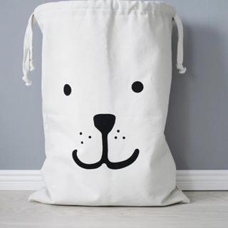 【犬柄】ストレージバッグ(収納/チェスト)