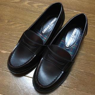 セダークレスト(CEDAR CREST)のローファー23.5EEE(ローファー/革靴)