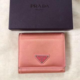 プラダ(PRADA)のあーちゃん様専用 プラダ 三つ折り財布(財布)