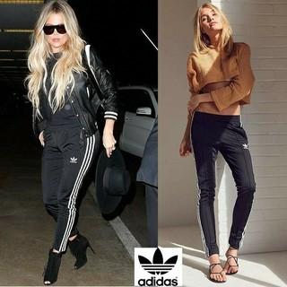 アディダス(adidas)のadidas sst track pants レディース M スキニーデザイン(スキニーパンツ)