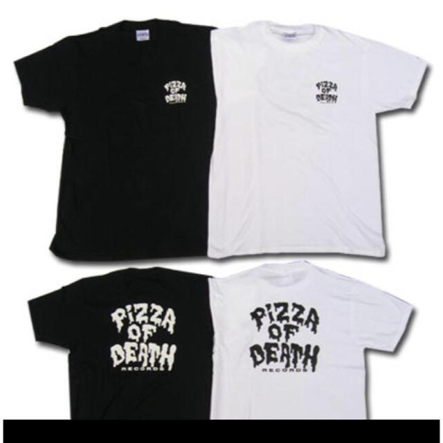 HIGH!STANDARD(ハイスタンダード)のPIZZA OF DEATH Tシャツ ピサオブデス 新品 Sサイズ XLサイズ エンタメ/ホビーのタレントグッズ(ミュージシャン)の商品写真