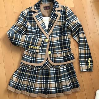 スパイシーマーマレード(SPICY MARMALADE)のSPICY MARMALADE スカートスーツ プリーツ(スーツ)