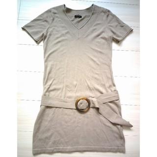 ボッシュ(BOSCH)の【試着のみ】BOSCH ベルト付VネックTシャツ(Tシャツ(半袖/袖なし))