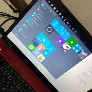 エヌイーシー(NEC)のノートパソコン NEC lavie ls150f(ノートPC)