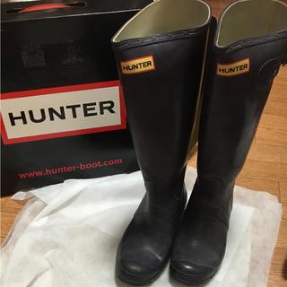ハンター(HUNTER)のハンター 長靴 EU37(レインブーツ/長靴)