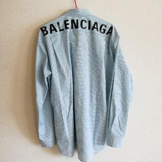 バレンシアガ(Balenciaga)のバレンシアガ ストライプ オーバーサイズシャツ サイズ38(シャツ)