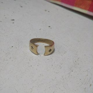 チビジュエルズ(Chibi Jewels)のMaki様❣️Chibi jewels スター C型リング 真鍮(リング(指輪))