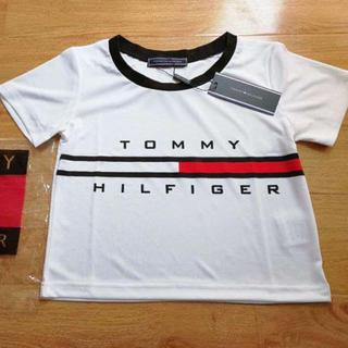 トミーヒルフィガー(TOMMY HILFIGER)の夏新作 Tommy Hilfiger 腹出し Tシャツ(Tシャツ(半袖/袖なし))