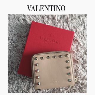 ヴァレンティノガラヴァーニ(valentino garavani)のロックスタッズコンパクトウォレット(財布)