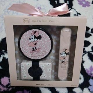 ディズニー(Disney)のDisneyディズニーハンド&ネイルケアギフトスペシャルローズの香りミニーマウス(ネイルケア)