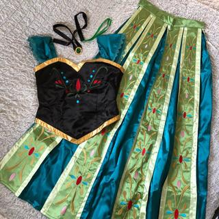 Disney - アナと雪の女王 アナ コスプレ 衣装