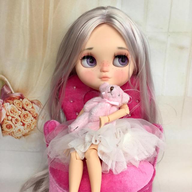 マミリン様専用     カスタムドール  017  icyドール ハンドメイドのぬいぐるみ/人形(人形)の商品写真