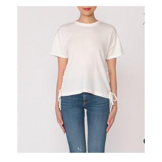 ラグアンドボーン(Rag & Bone)のragandbone  サイドレースアップTシャツ(Tシャツ(半袖/袖なし))