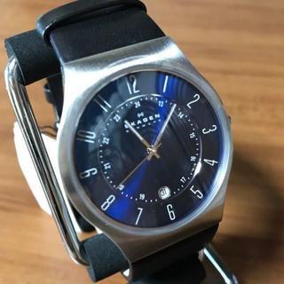 スカーゲン(SKAGEN)の新品✨スカーゲン SKAGEN 腕時計 メンズ 233XXLSLN ネイビー(腕時計(アナログ))