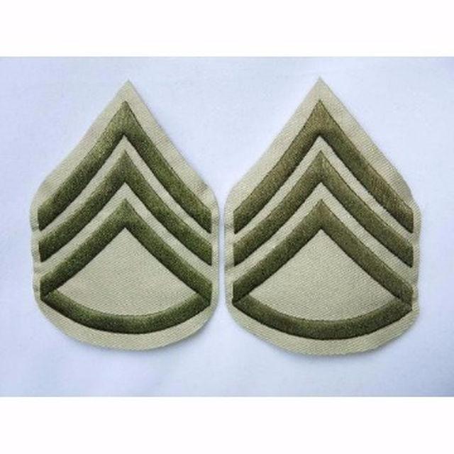 WW2米軍◆USMC(アメリカ海兵隊)二等軍曹階級章 エンタメ/ホビーのミリタリー(その他)の商品写真
