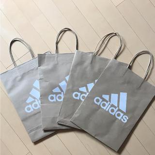 アディダス(adidas)のadidas ショップ袋 4枚入り(ショップ袋)