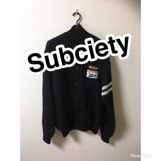 サブサエティ(Subciety)のSubciety 美品(カーディガン)