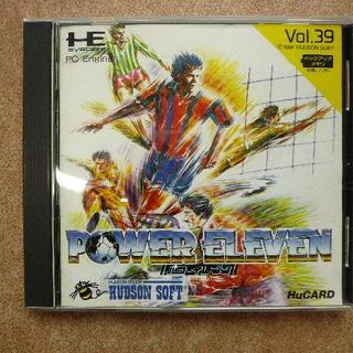 エヌイーシー(NEC)のPCエンジン★パワーイレブン(家庭用ゲームソフト)