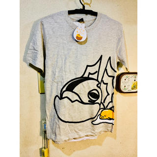 グデタマ(ぐでたま)のぐでたま モンハン コラボ Tシャツ(Tシャツ/カットソー(半袖/袖なし))