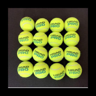 ヘッド(HEAD)のテニスボール8個(ボール)