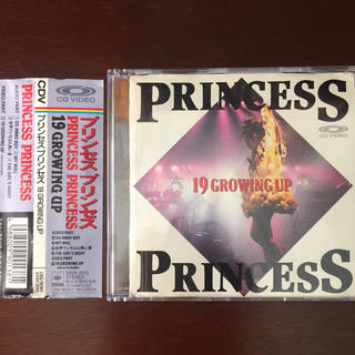 ソニー(SONY)のCDV  PRINCESS  PRINCESS(ポップス/ロック(邦楽))