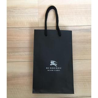 バーバリーブラックレーベル(BURBERRY BLACK LABEL)のバーバリー ショップ袋(ショップ袋)