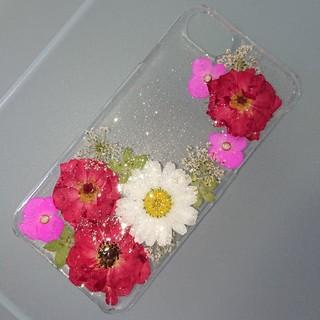 iPhone7 iPhone6   iPhoneケース 押し花ケース(スマホケース)