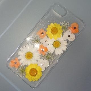 iPhone7 iPhone8 iPhoneケース 押し花ケース(スマホケース)