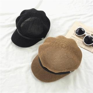 ザラ(ZARA)のキャスケット(ハンチング/ベレー帽)