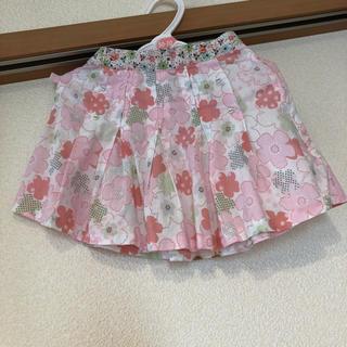 キャシャレル(cacharel)の[ブランド子供服]キャシャレル Cacharel プリーツスカート 80(スカート)