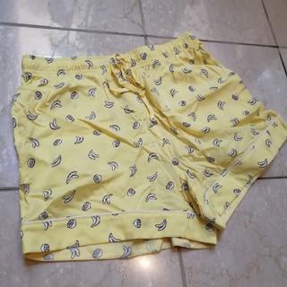 ジーユー(GU)の短パン ジーユー パジャマ イエロー フルーツ バナナ レモン(パジャマ)