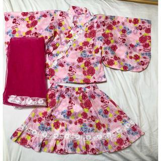 サンカンシオン(3can4on)の3can4on Disneyコラボ❤️浴衣ドレス(甚平/浴衣)