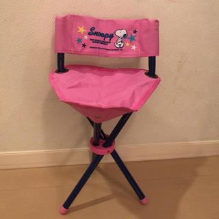 スヌーピー(SNOOPY)のスヌーピー折りたたみ椅子(折り畳みイス)