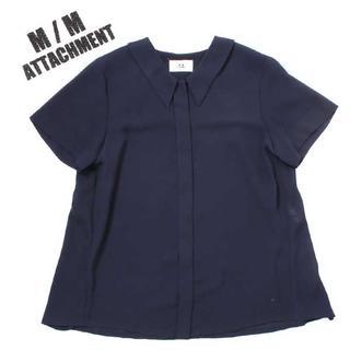 アタッチメント(ATTACHIMENT)のM/M ATTACHMENT ブラウス size2 エムエム アタッチメント(シャツ/ブラウス(半袖/袖なし))
