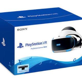 プレイステーションヴィーアール(PlayStation VR)のpsvr 本体 カメラ同梱版 16001(中期モデル) 美品(家庭用ゲーム機本体)