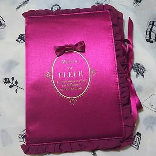 メゾンドフルール(Maison de FLEUR)の新品💝タグつき 母子手帳ケ-ス M サイズ ボルド-(母子手帳ケース)