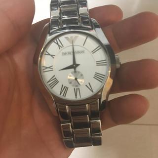 エンポリオアルマーニ(Emporio Armani)のアルマーニ腕時計(金属ベルト)