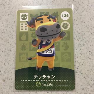 ニンテンドウ(任天堂)のamiiboカード テッチャン(カード)