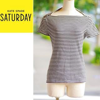 ケイトスペードサタデー(KATE SPADE SATURDAY)のケイト・スペード サタデー(kate spade SATURDAY)のボーダート(Tシャツ(半袖/袖なし))