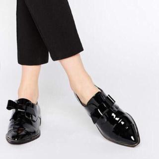 アルド(ALDO)のALDO エナメルリボンローファー (ローファー/革靴)