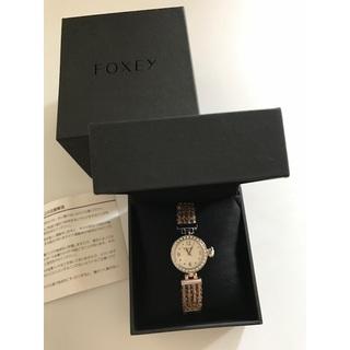 フォクシー(FOXEY)の新品♡FOXEY ノベルティ 腕時計(腕時計)