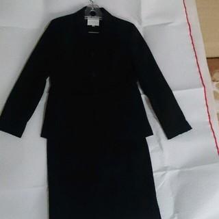 エフデ(ef-de)のエフデ スーツ 黒 セットアップ(テーラードジャケット)