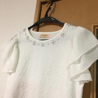 マジェンダ(Magender)の袖フリル♡(カットソー(半袖/袖なし))