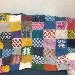 手編みブランケット(その他)