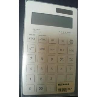 ムジルシリョウヒン(MUJI (無印良品))の【未使用】無印良品   電卓/白・大(その他)