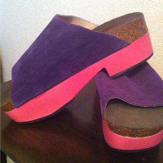 ミスティック(mystic)のmystic*新品靴♡(サンダル)