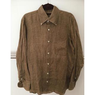 ルイジボレッリ(LUIGI BORRELLI)のボレリ 麻のシャツ BORRELLI(シャツ)