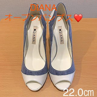 ダイアナ(DIANA)のDIANA ヒールパンプス 22.0㎝(ハイヒール/パンプス)