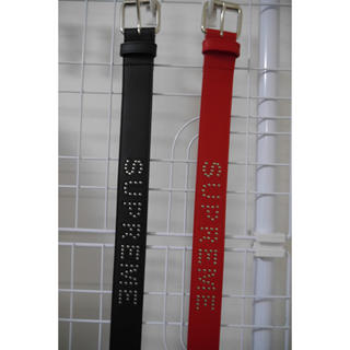 Supreme - Studded Logo Belt COLOR/STYLE 2つセット